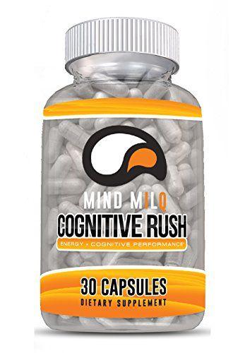 Mind Milq Cognitive Rush Premium Brain Supplement Energy Burst To