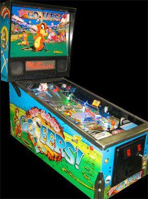 No Good Gofers Pinball Machine For Sale #nogoodgofers #pinball #gophers