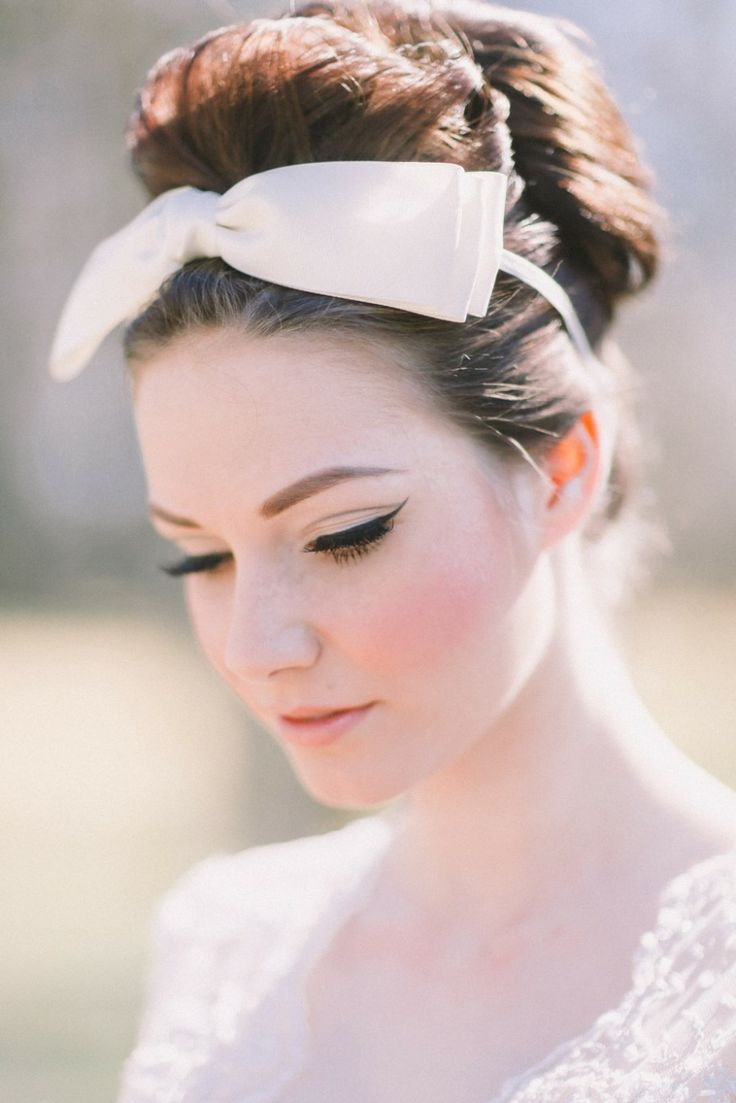 61 best Snow White Wedding images on Pinterest | Bridal hairstyles ...
