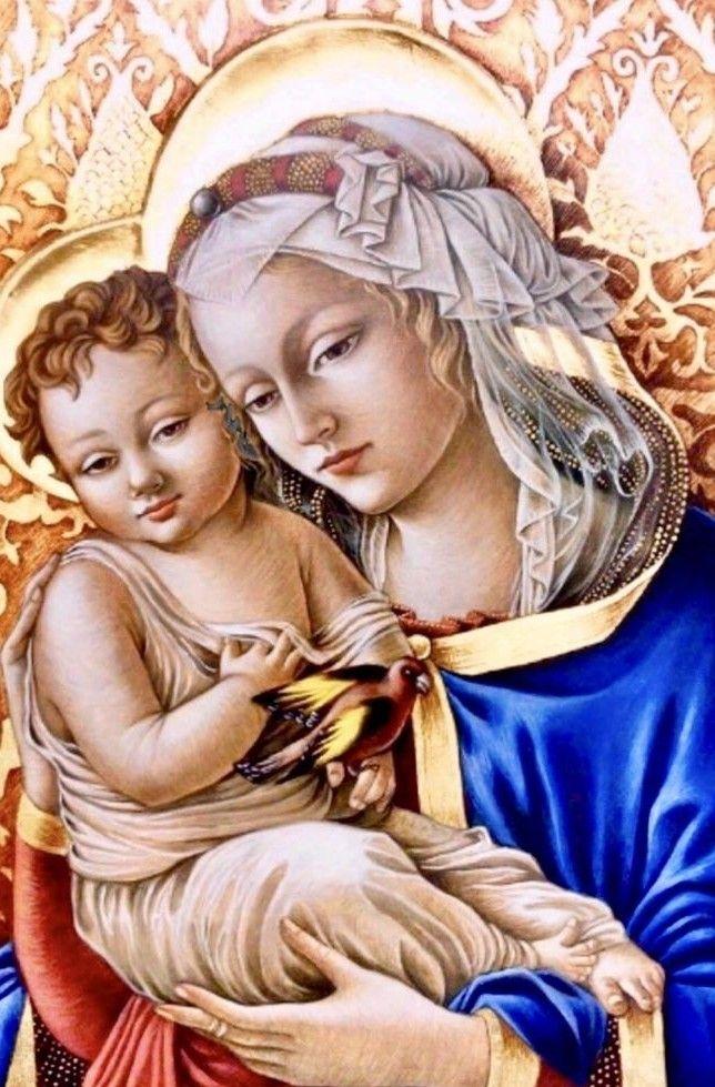 Pin On Virgen Maria