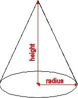 free template for a cone | Heres is a calculator that calculates the volume of a cone.