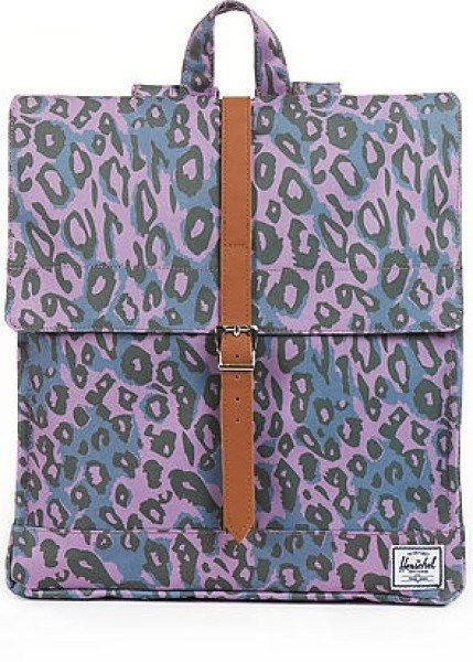 NEW Herschel Supply Backpack City Purple Leopard Book School Bag Girls NWT  | Clothing, Shoes & Accessories, Women's Handbags & Bags, Backpacks & Bookbags | eBay!
