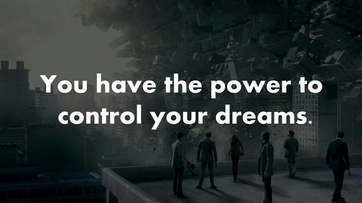 Did you know that you can control your dreams 😁