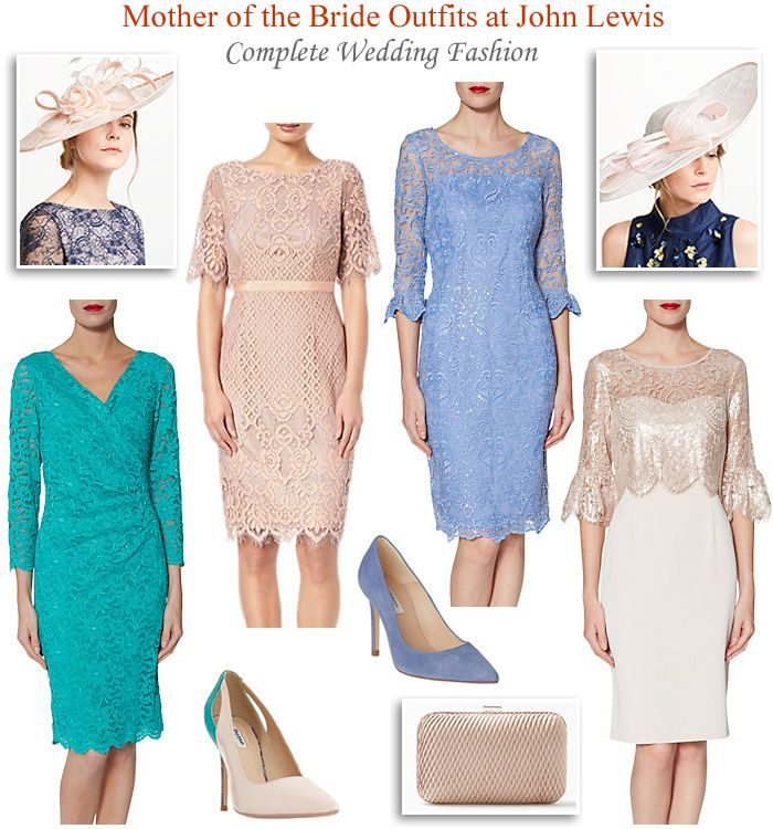 Mother Of The Bride Outfits At John Lewis Summer Wedding Fashion Bridesmaid And Guests Lace Dr Mother Of The Bride Outfit Bride Clothes Summer Wedding Outfits