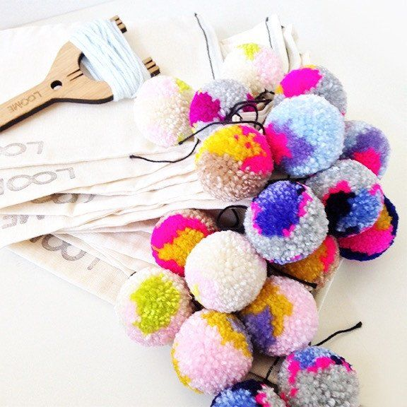 Pom Pom Making with The Loome | Young & Able