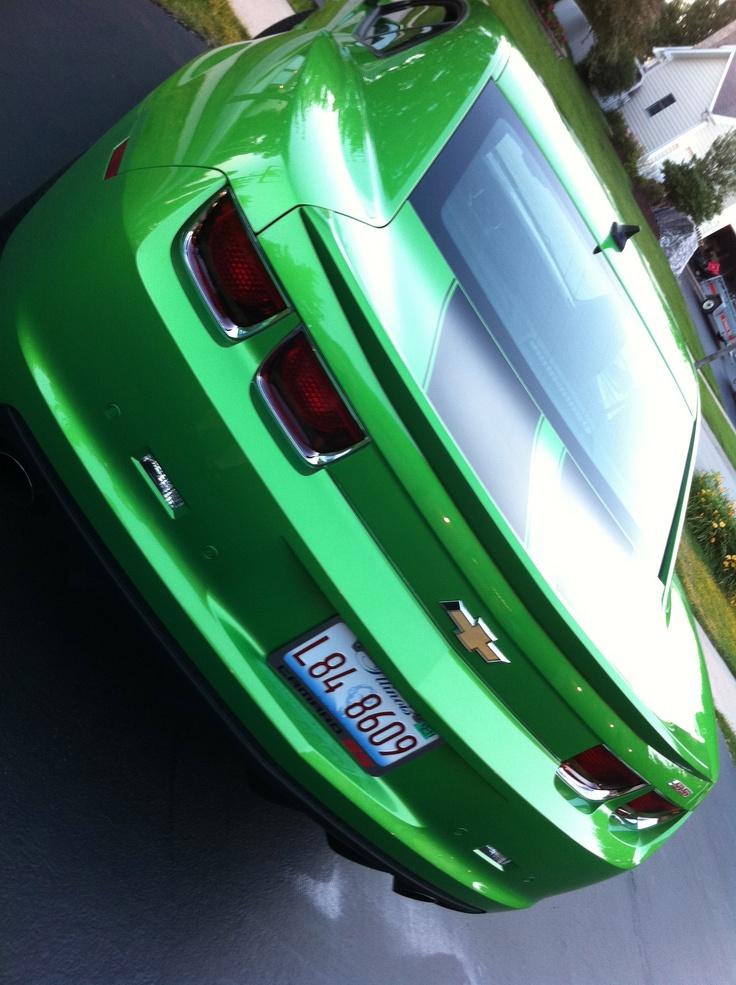 My synergy green 2011 camaro ss