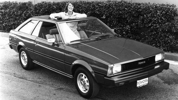 Седан Toyota Corolla SR5 Liftback 1979 / Тойота Королла SR5 Liftback лифтбэк 1979 четвертое поколение