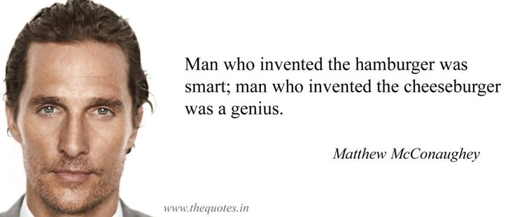 Man who invented the hamburger was smart