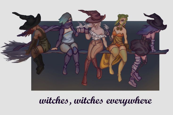 my witches by poszy6.deviantart.com on @DeviantArt