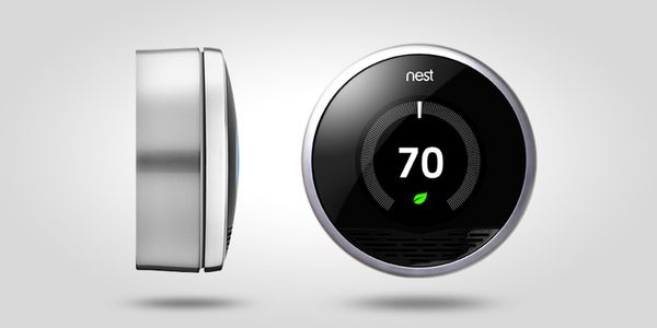 Nest - The Learning Thermostat by Eric Fields, via Behance