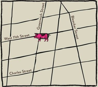 NY - Spotted Pig Map