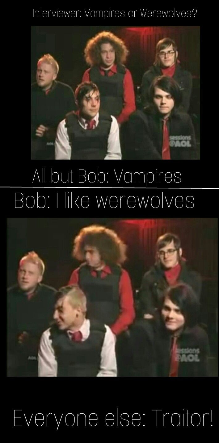 And that my frens, is why Bob got kicked from the band *bows* <<< that and the cats thing from the same interview