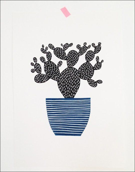 LINO PRINT - Amy Blackwell