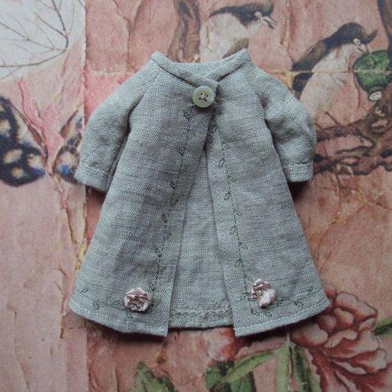 Manteau lin Duster pour Blythe