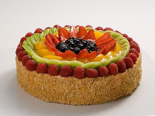 Birthday Cake With Fresh Fruit Recipes