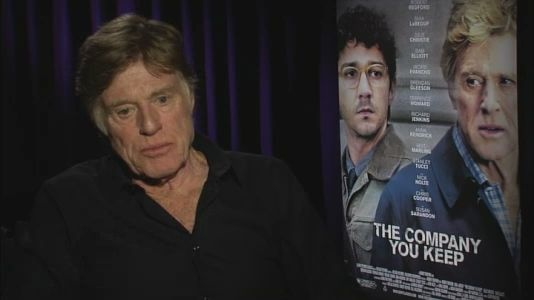 """NY1 VIDEO: Robert Redford spoke to NY1's Neil Rosen about his new movie """"The Company You Keep,"""" which he directs and stars in as a former member of the '60s militant group """"The Weather Underground""""."""