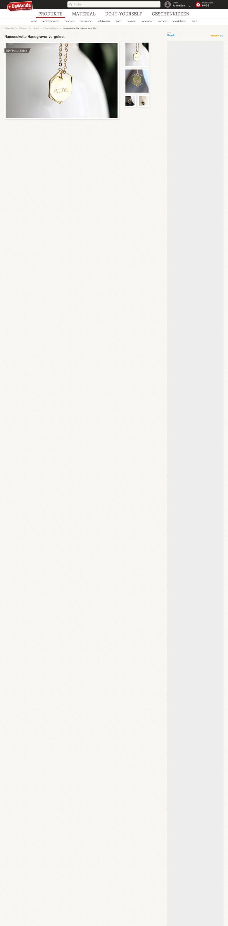Website'http%3A%2F%2Fde.dawanda.com%2Fproduct%2F89858343-namenskette-handgravur-vergoldet' snapped on Page2images!