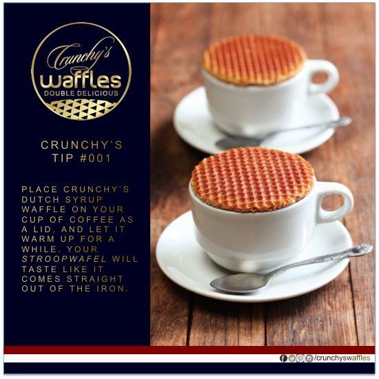 #crunchyswaffles  CRUNCHY's Waffles - Dutch stroopwafels