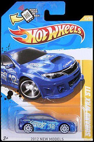 Hot Wheels 2012 Subaru WRX STI Blue: Amazon.com