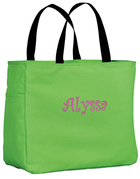 1 Personalized Tote Bag Personalize Bridesmaid gift, destination wedding gifts by cre8ivgifts, $8.00