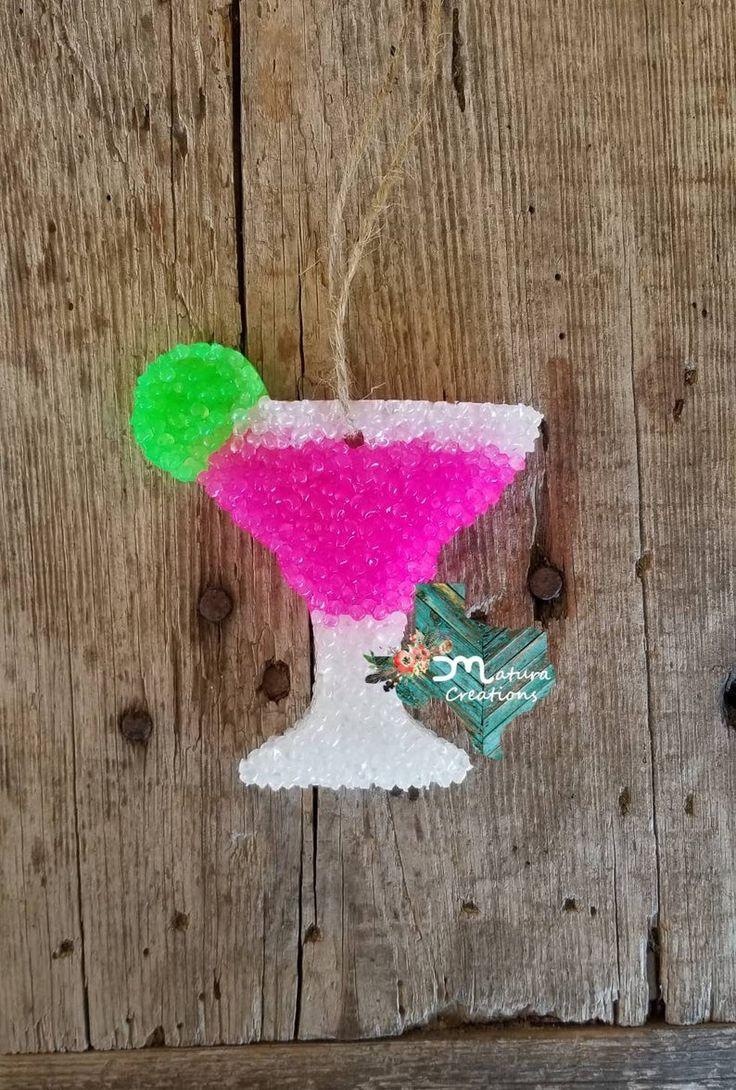 Margarita Car Freshies / Air Fresheners / Aroma Beads in