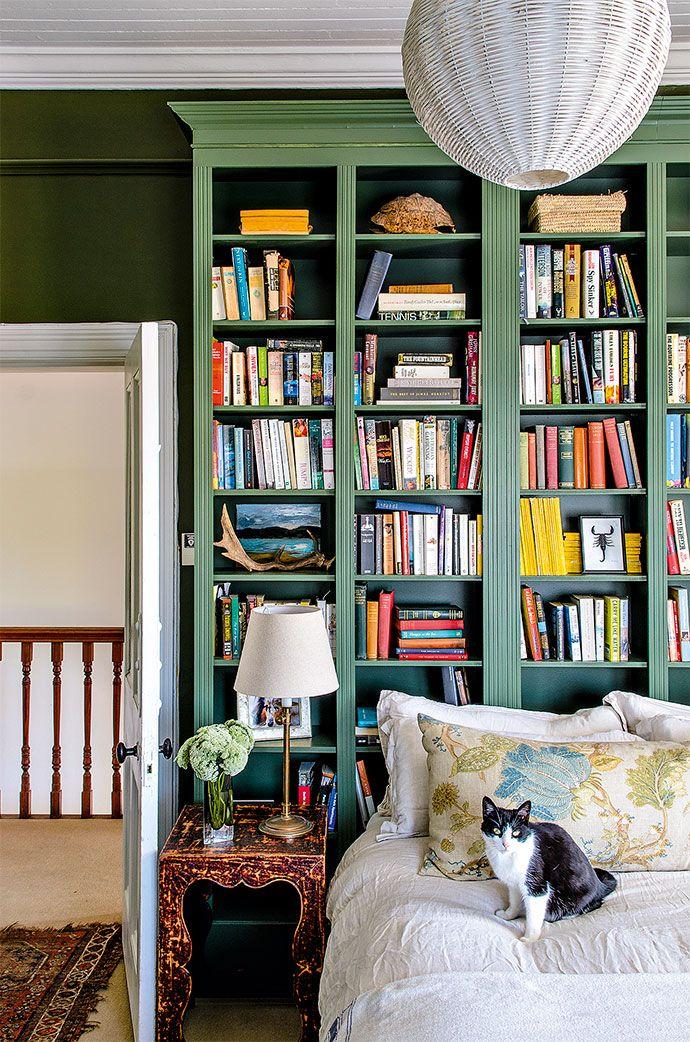 Renovated Cape Town home - Best 20+ Green Bookshelves Ideas On Pinterest Green Library
