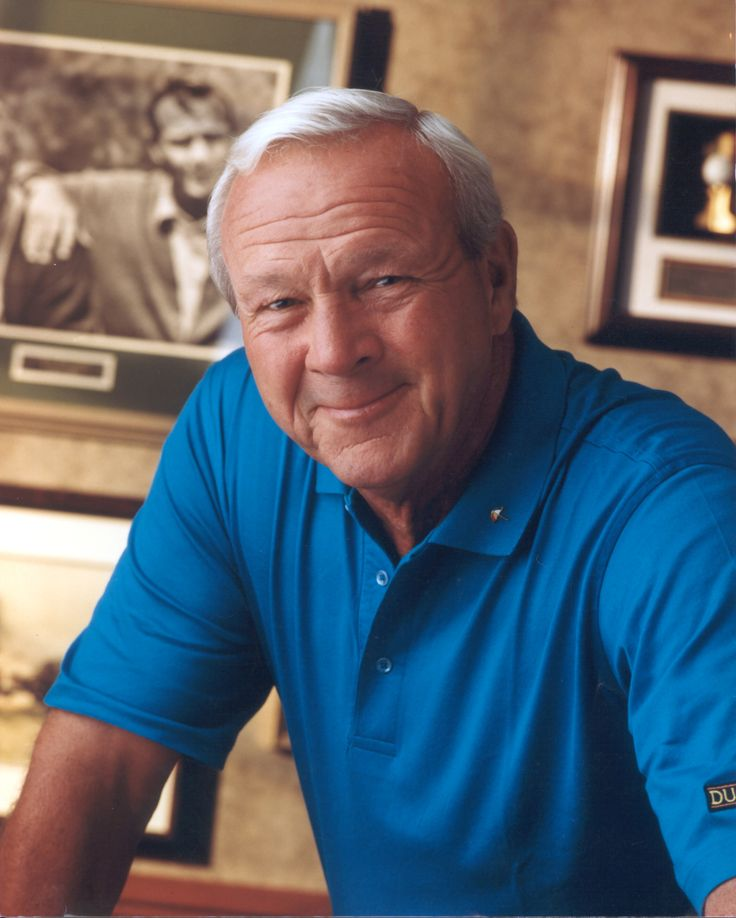 Arnold Palmer...golfers don't get any nicer than this man