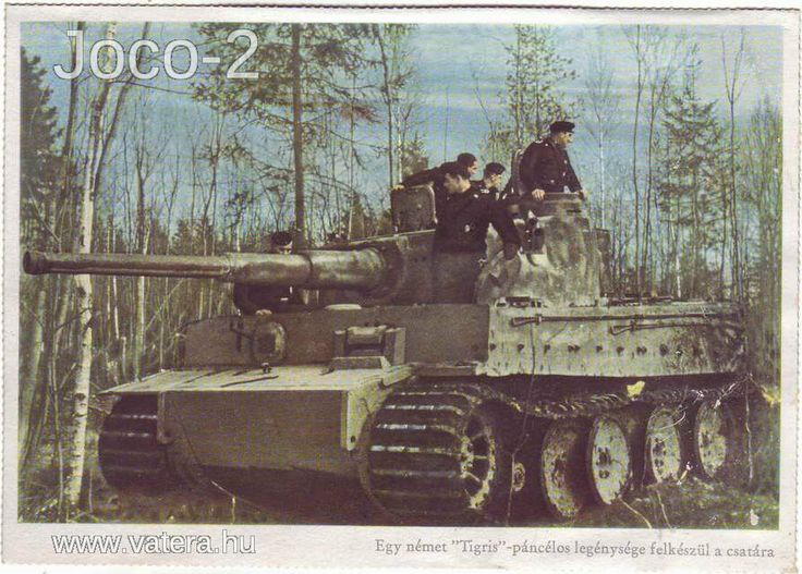 tiger from schwere panzer abteilung 502 near leningrad ww2 tankscolor picturesin