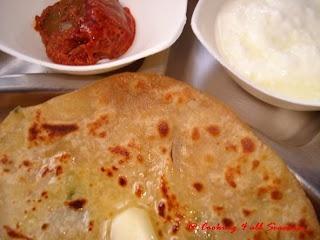 Aloo Paratha, Indian potato bread | Recipes | Pinterest