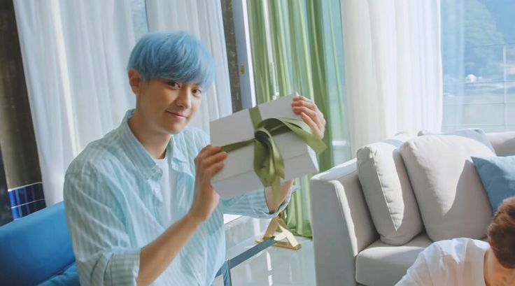 """[CAP] #CHANYEOL on Nature Republic X #EXO —""""#EXO is here for A_S!"""""""
