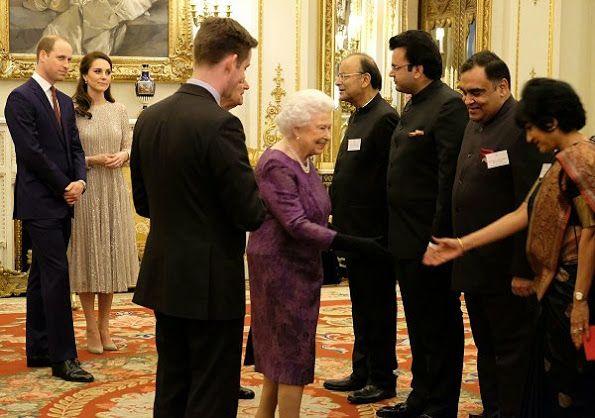 British Royals at UK-India Year of Culture 2017 reception