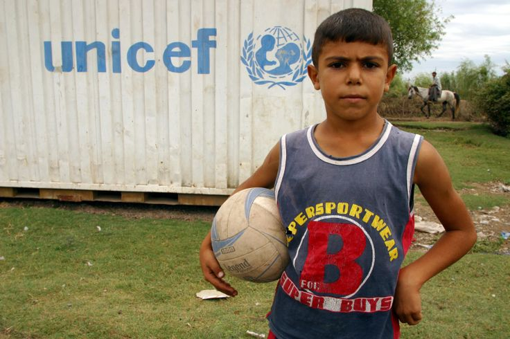 UNICEF gives hopes to children in refugee camps and other remote corners of the globe by giving the gift of the beautiful game.