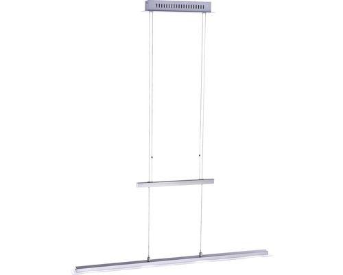 LED Pendelleuchte Tenso EEK A+ 4x4,7W nickel matt/satiniert bei HORNBACH kaufen 70€