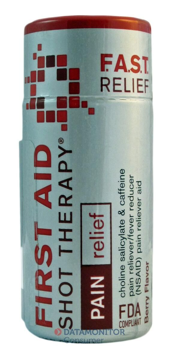 Here's F.A.S.T. #PainRelief in one #shot First Aid Shot Therapy in #USA