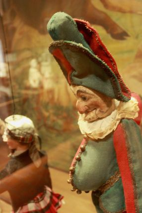 Before there was Guignol the French had Polichinelle, a direct relative of Punch.