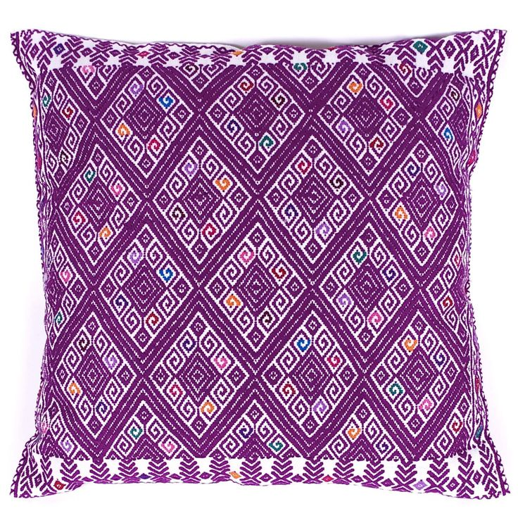 27 best pillows images on pinterest cushion covers Mexican embroidered bedding