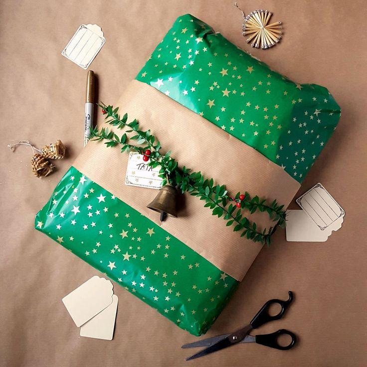 kreatywne pakowanie prezentów [creative gifts wrapping - bell]