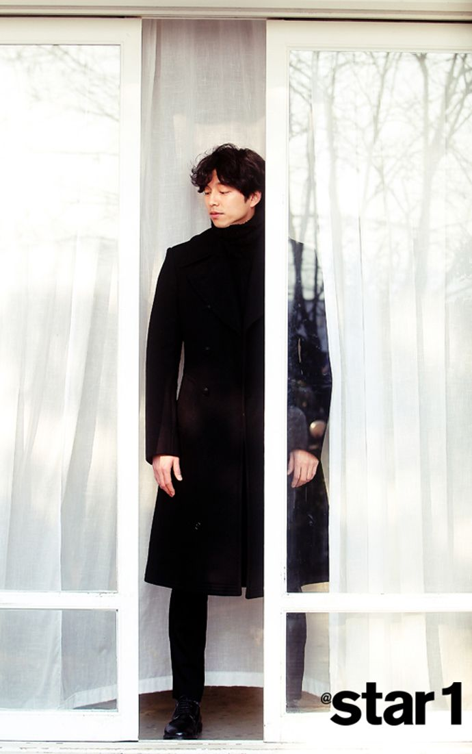 Gong Yoo - @ Star1 Magazine January Issue '14