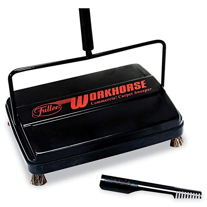Fuller Brush Workhorse Commercial Carpet Sweeper Review