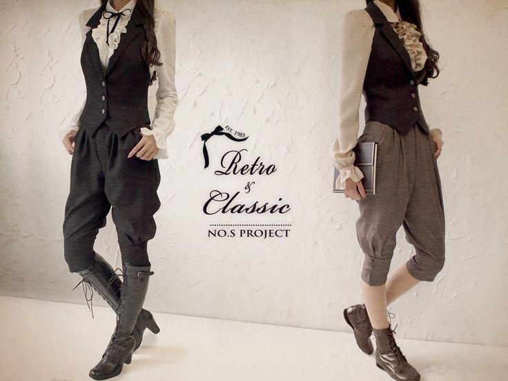 「乙女」のための乗馬風パンツ コーディネート | NO.S PROJECT