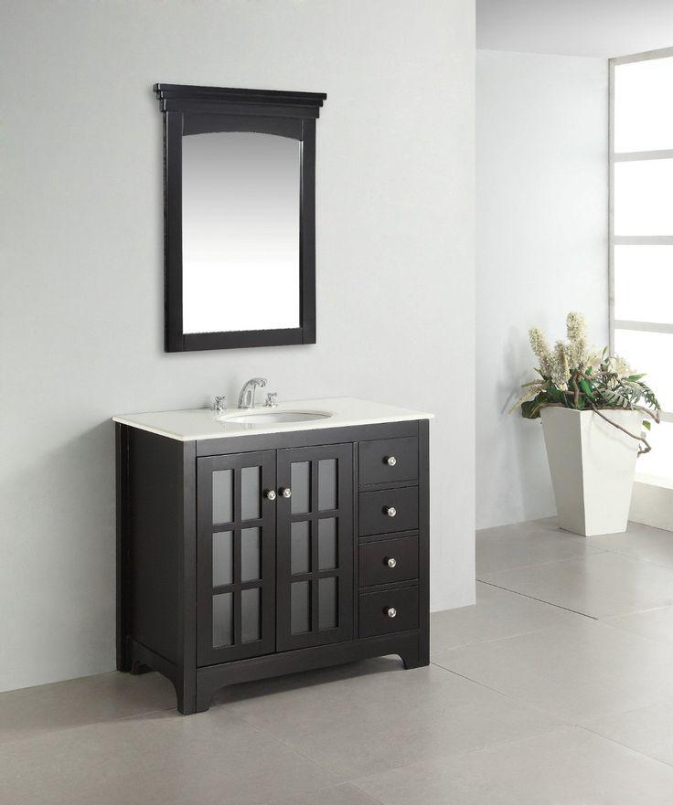 Image Gallery Website Black vanity set bathroom Orleans