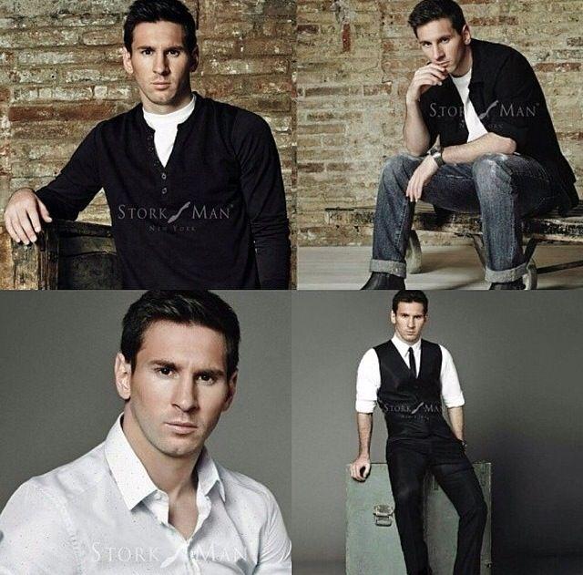 Whatta hottie you are Lionel Messi!!! ;)