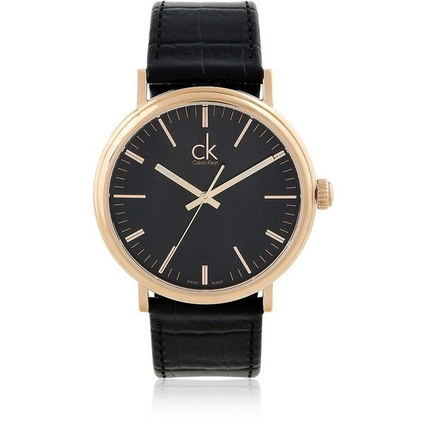 Calvin Klein ($320) ❤ liked on Polyvore featuring jewelry, watches, calvin klein watches, water resistant watches, calvin klein jewelry, swiss quartz watches and stainless steel jewelry