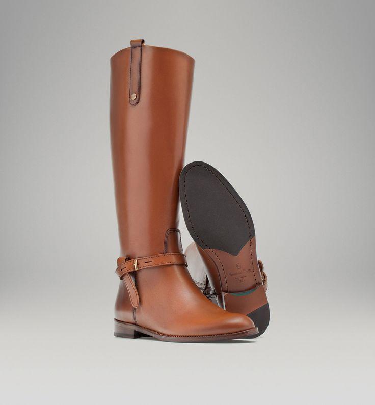 BOTTE EN CUIR - Bottes - Chaussures - WOMEN - France