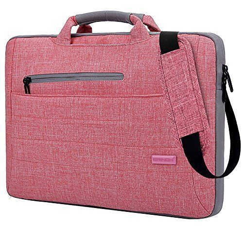 New Trending Briefcases amp; Laptop Bags: Brinch Multi-functional Suit Fabric Portable Laptop Carrying Bag for 15-15.6 Inch Laptop / Tablet / Macbook / Notebook - Light Pink. Brinch Multi-functional Suit Fabric Portable Laptop Carrying Bag for 15-15.6 Inch Laptop / Tablet / Macbook / Notebook – Light Pink   Special Offer: $25.99      244 Reviews Why should take this bag ? This Brinch Laptop Case / Bag offers a simple and yet fashionable way to protect you