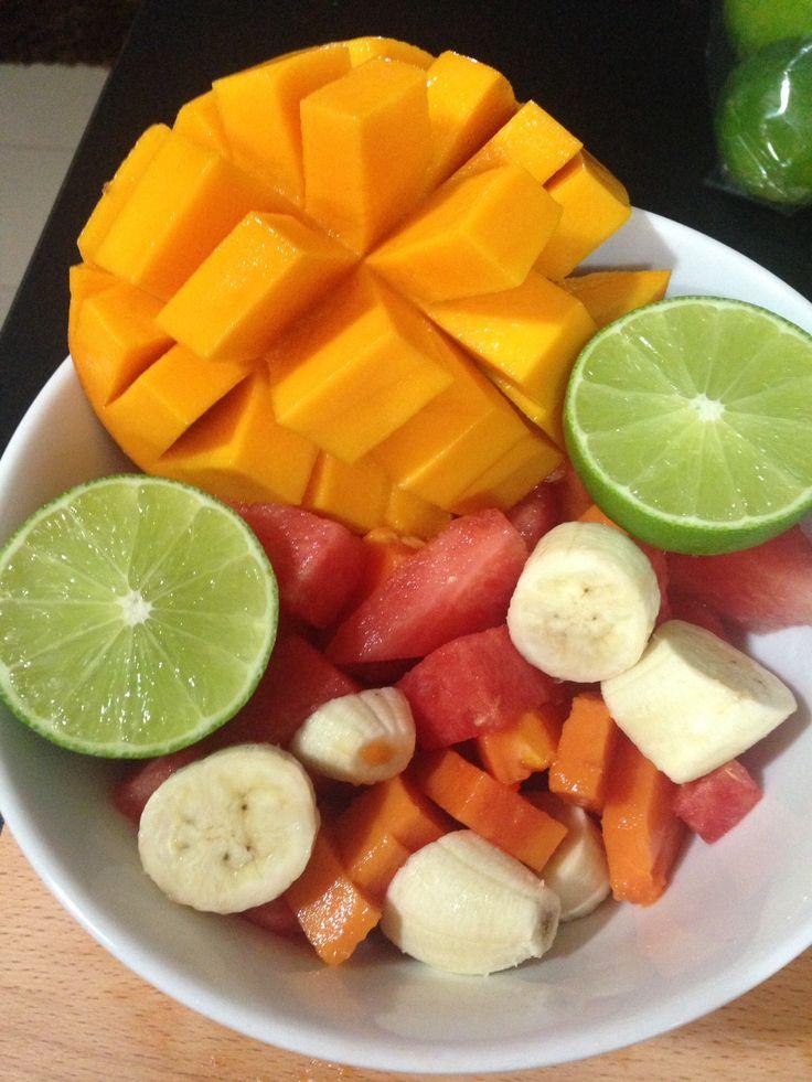 Fresh fruit salad - #singapore