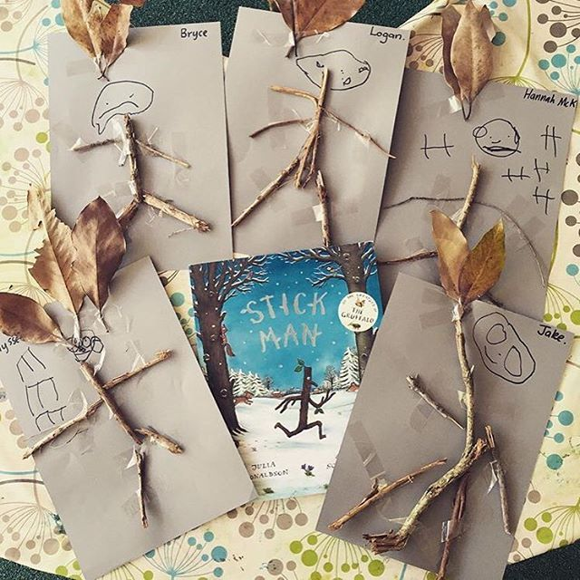 Stick man! Oh, stick man! Who else loves this Julia Donaldson classic? ❤️…