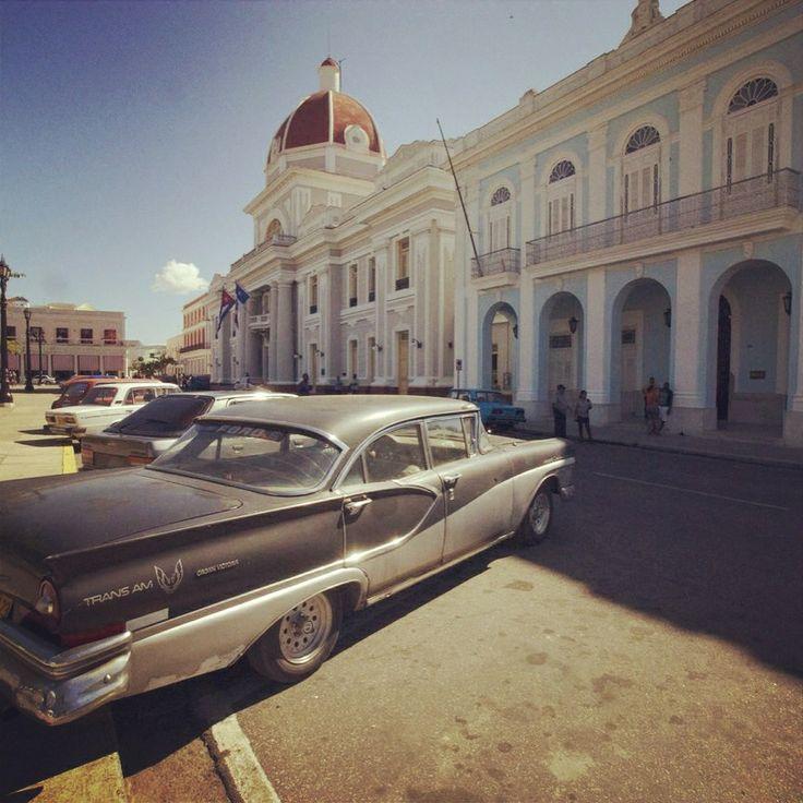 Cienfuegos square Cuba