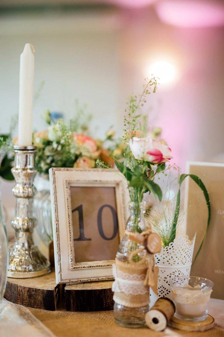 Hochzeitsdeko vintage