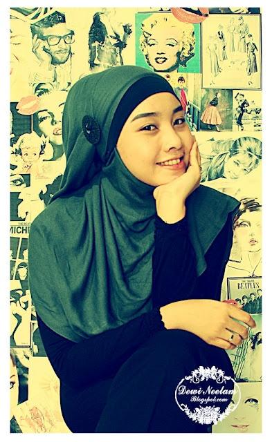 Dewi Neelam by Irna: Hijab Tutorial #2 (Pashmina)
